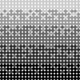Kreise kopieren graue Farben Vektornahtloser Hintergrund vektor abbildung