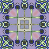 Kreise und Linien abstrakte Kunst vektor abbildung