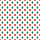 Kreise und nahtloses Muster der Polygone Stockfoto