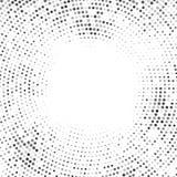 Kreiselementkreis-Halbtonhintergrund Lizenzfreies Stockfoto