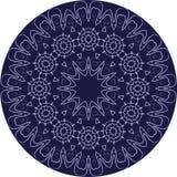 Kreisen Sie hoch entwickelte symmetrische Mustermotive von Westeuropa ein Lizenzfreies Stockfoto