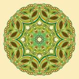 Kreisen Sie Verzierung, dekorative runde Spitze ein Lizenzfreie Stockfotos