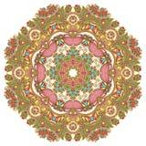 Kreisen Sie Verzierung, dekorative runde Spitze ein Lizenzfreie Stockfotografie
