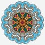 Kreisen Sie Verzierung, dekorative runde Spitze ein Lizenzfreies Stockfoto