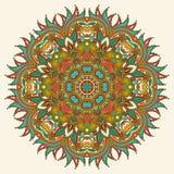 Kreisen Sie Verzierung, dekorative runde Spitze ein Stockbild