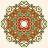 Kreisen Sie Verzierung, dekorative runde Spitze ein Lizenzfreie Stockbilder