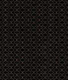 Kreisförmige geometrische Zahlen Verzierungsmusterdesign des nahtlosen Vektors Lizenzfreie Stockbilder
