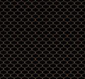 Kreisförmige geometrische Zahlen Verzierungsmusterdesign des nahtlosen Vektors Lizenzfreies Stockfoto