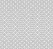 Kreisförmige geometrische Zahlen Verzierungsmusterdesign des nahtlosen Vektors Stockfotos