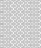 Kreisförmige geometrische Zahlen Verzierungsmusterdesign des nahtlosen Vektors Stockfotografie
