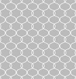 Kreisförmige geometrische Zahlen Verzierungsmusterdesign des nahtlosen Vektors Lizenzfreie Stockfotos