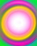 Kreisförmiges abstraktes Feld Lizenzfreies Stockfoto