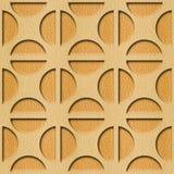 Kreisförmiges dekoratives Muster - dekorative Kreisform stock abbildung