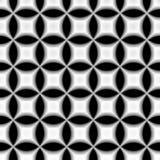 Kreisförmiges geometrisches Retro- Muster Lizenzfreie Stockfotografie