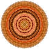 Kreisform Echeveria-longissima Zusammenfassung 3 Stockfotos