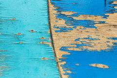Kreisholzverkleidung vom Kinderspielplatz Veraltete gezimmerte Oberfläche Lizenzfreie Stockfotos