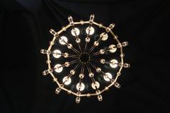 Kreislampe in der Kirche Stockbilder