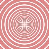 Kreismuster-Rosa- und weißefarben Zeichen für Illustrationsvektor stock abbildung