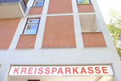 Kreissparkasse Photo stock