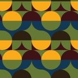 Kreist nahtloses Muster der Illusion ein Lizenzfreie Stockfotografie