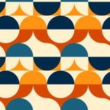 Kreist nahtloses Muster der Illusion ein Stockbild