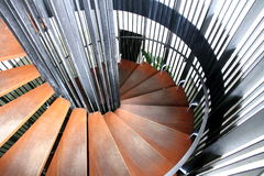 Kreistreppe Stockfotos