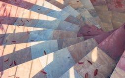 Kreistreppenhaus Stockbild