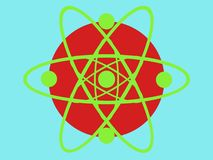Kreiswissenschaft designe vektor abbildung