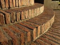 Kreisziegelstein-Treppen von   Lizenzfreies Stockfoto