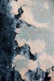 Krekingowa cementowa tekstura Fotografia Stock