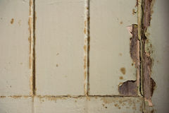 Krekingowy drzwi Obraz Stock