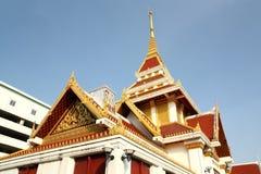 Krematorieugn av rakangtemplet av bangkok royaltyfri bild