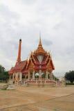 Krematorium bei Wat Khun Thip Lizenzfreie Stockfotos