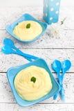 Kremeis der süßen Zitrone Lizenzfreie Stockbilder