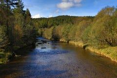 Kremelna, Autumn scenery in the Sumava Mountains, Stodulky, Czech Republic Stock Images