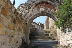 kremenec замока губит Украину Стоковое Изображение RF