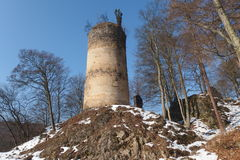 kremenec замока губит Украину Стоковое фото RF