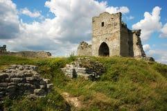 Kremenets Festung Stockfotos