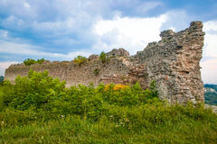 Kremenets fortress (13th century), Ukraine Stock Image