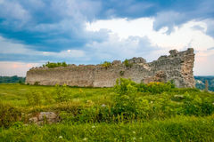 Kremenets fortress (13th century), Ukraine Royalty Free Stock Photography