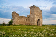 Kremenets fortress (13th century), Ukraine Royalty Free Stock Photo