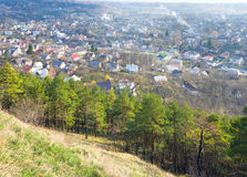 Kremenets town (Ternopil Oblast, Ukraine) Royalty Free Stock Image