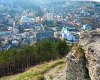 Kremenets town (Ternopil Oblast, Ukraine) Stock Photo