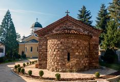 Kremikovtsiklooster van Heilige Geoge, Bulgarije Stock Afbeelding