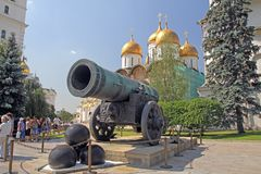 Kreml bombarderar Arkivbild