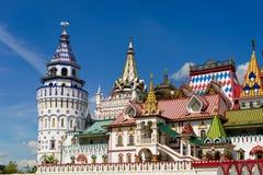 Kreml i Izmailovo, Ryssland, Moskva Royaltyfri Fotografi