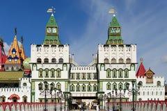 Kreml i Izmailovo, Ryssland, Moskva Royaltyfria Bilder