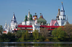 Kreml i Izmaylovo Arkivbild