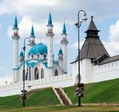 Kreml - Kazan - Russland stockfotografie