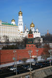 kreml Moscow Kolor fotografia Obraz Royalty Free